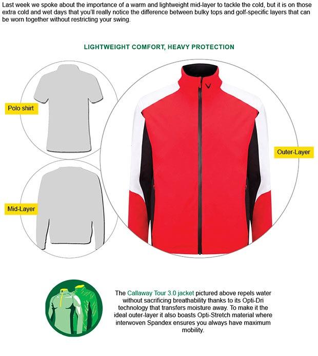 Callaway Tour 3.0 jacket