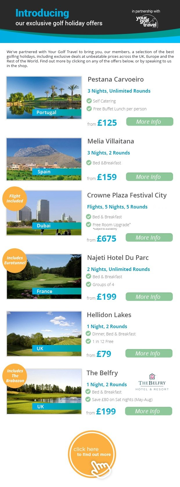 Your Golf Travel - The Belfry from £199