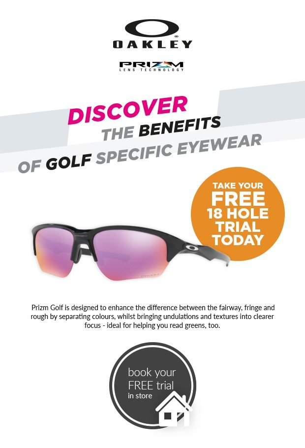 Oakley 18 Hole Free Trial